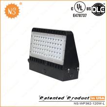 Открытый UL cUL Dlc 120 Вт светодиодный настенный светильник