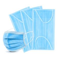 Wholesale Disposable Medical Mask 3ply Single-use Face Mask mascarilla