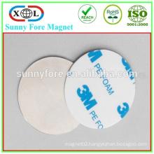 round 3M adhesive PE foam n42 neodymium magnet