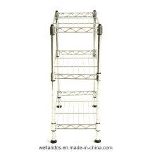 Banheiro Corner Rack de armazenamento de metal (CJ453090C3C)