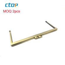 Custom metal light gold bag frame wholesale clutch bag frame accessory hardware