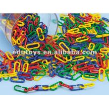 plastic link toys teaching mathematical set