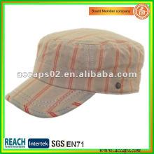 cotton camo military cap