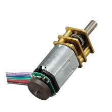 GM12-N20VA N20 dc motor gear 12v with encoder