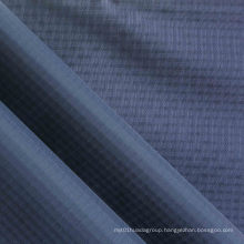 Waterproof Quadruple-Yarn Ripstop Diamond Oxford Nylon Fabric with PU