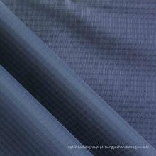 Impermeável Quadruple-Yarn Ripstop Diamond Oxford tecido de nylon com PU