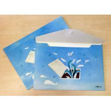 Tamanho 330 * 225mm Abotoado Envelope