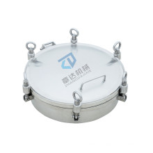 Guaranteed Quality Round flange manhole stainless steel flange manhole cover with pressure