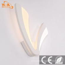 Lámpara decorativa moderna con ahorro de energía LED Lámpara montada en la pared
