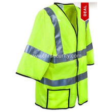High Visibility Yellow Mesh Safety Vest