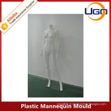Mâche à mannequin femelle matt blanc complet