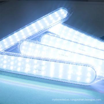 Alta calidad más nuevo 280 * 45 mm 36leds programable luz LED color mágico direccionable pixel rgb de iluminación para la diversión al aire libre