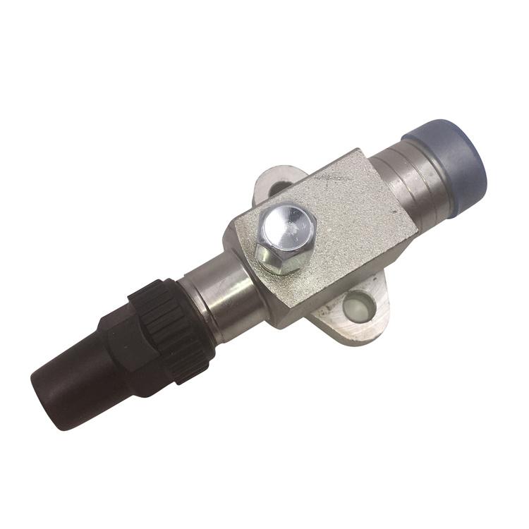 Stainless steel service shut off refrigeration valves compressor globe valve