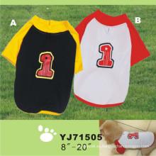 Perro Deporte Camisetas, Ropa Para Mascotas Ropa Para Perros (YJ71505)
