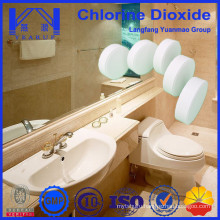 Chlorine Dioxide Tablet as Deodorizing Agents for Toilet