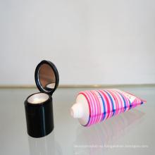 Новый дизайн колпачок с зеркалом для макияжа косметической упаковки