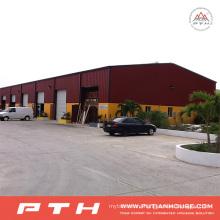 2015 Pth Prefab Customized Design Industrial Steel Structure Warehouse