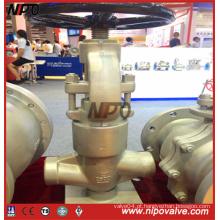 Válvula do globo da linha do selo da pressão do aço forjado (J11H)