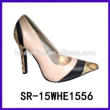 SR-15WHE1556 zapatos de las mujeres de tacones altos mujeres zapatos de verano zapatos de las mujeres 2015