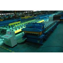Машина для формовки плитки с двойной системой прессования