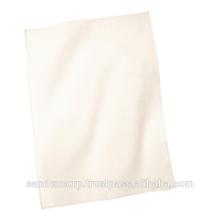 plain white cotton dish towels