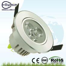 3W a mené vers le bas la lumière avec le certificat de la CE et de ROHS