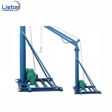 Mini Construction Lift 800kg 500kg Grúa grúa exterior