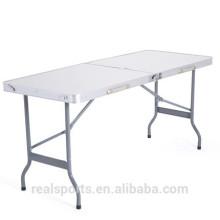 Mesa de dobradura de alumínio Niceway alta qualidade grandes lotes 8 ft mesa dobrável