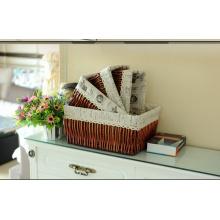 Handmade Wicker Storage Basket with Eco-Friendly (BC-ST1002)