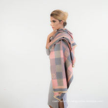 2017 femmes nouveau design Chine imprimé foulard en coton rouge paisley motif