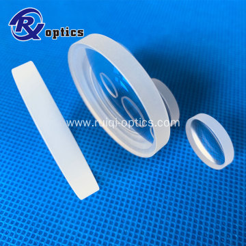 JGS1 glass double convex lens