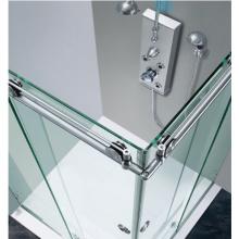 Exportador de acero inoxidable 304 rodillo de la puerta corredera de vidrio para la puerta de la ducha