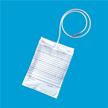 Bolsa de orina no esterilizada sin válvula de drenaje