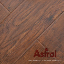 Зарегистрированная реальная деревянная текстура (Great U Groove) Ламинированный пол (AY7015)