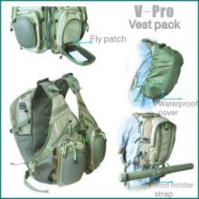 fly fishing V-pro vest back pack
