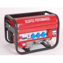 Novo modelo quadrado quadro Frame trifásico Recoil Start Gasoline Generator