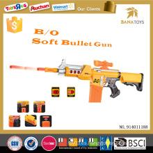 Arma suave de los bbs de la seguridad del juguete del arma de bala de los cabritos de los niños al aire libre