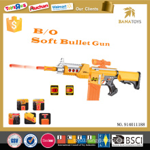 Outdoor kids soft bullet gun toy safety air soft bbs gun
