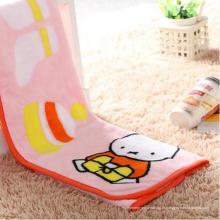 Alta Qualidade Impresso Fannel Infantil Minky Blanket