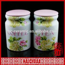 Keramik Eule Cookie Gläser