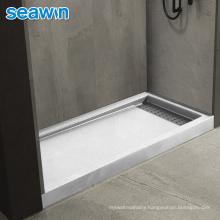 Seawin Flat Bath Rectangular Floor Acrylic Base Shower Tray Acrylic
