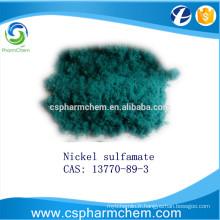 Solution de sulfamate de nickel, CAS 13770-89-3 pour l'électrodéposition