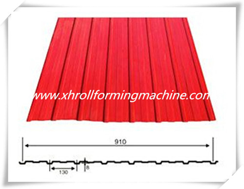 Automatic Floor Board Roll Forming Machine