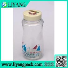 Logotipo do tipo, garrafa de água plástica do filme de transferência térmica