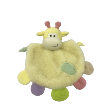 Yellow Lion Towel Baby Toys