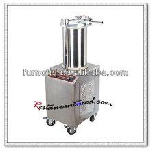 Machine de remplissage rapide de saucisse d'acier inoxydable de F167