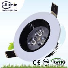 plafonnier mené de puissance élevée 3w lumière moderne
