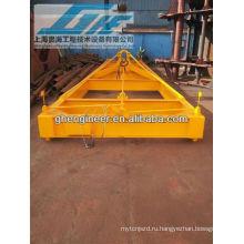 40feet Низкая высота Полуавтоматический разбрасыватель контейнеров, механический разбрасыватель для сыпучего материала