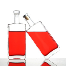 Transparent Glass Wine Bottle, New Creative Vodka Glass Wine Bottle