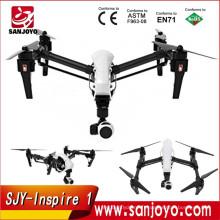 Nouvelle Arrivée! DJI Inspire 1 3-Axis Cardan Quadcopter avec 4K HD Caméra Télécommande unique FPV Drone